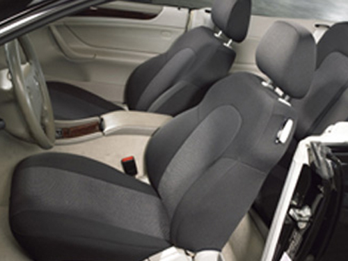Tailor made seat covers for cars and vans